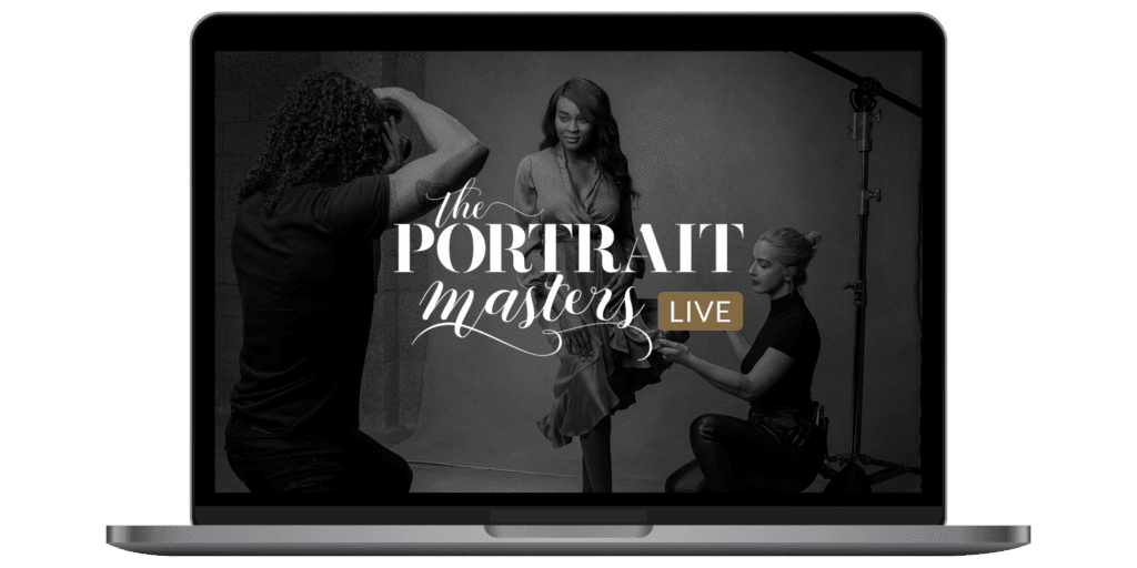 The portrait masters live conference for photographers online event